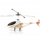 M350 Rechargeable 3.5-CH R/C Helicopter w/ Gyroscope - White + Black (IR Remote/6 x AA)