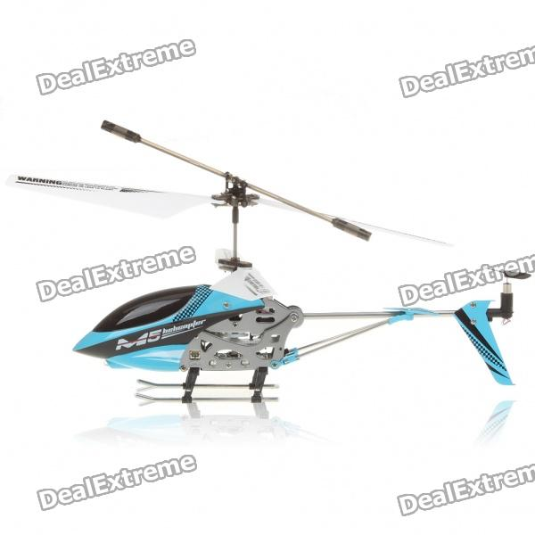 M5 Rechargeable 3.5-CH R/C Helicopter w/ Gyroscope - Blue (IR Remote/6 x AA)