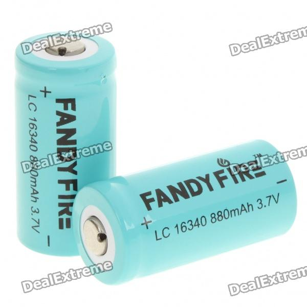 Fandyfire LC 16340 Rechargeable 3.7V