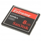Genuine SanDisk Extreme 400X CompactFlash CF Memory Card (8GB)