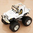 Mini Palm-Sized R/C Rally Car