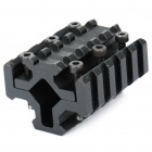 Fishbone Shaped Aluminum Alloy Universal 4-Side Gun Mount with Hex Wrench for MP9/M4AI - Black