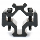 Fishbone em forma de liga de alumínio Universal 4-Side Gun Mount com Hex Wrench para MP9 / M4AI - Black