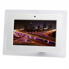 "10.2"" TFT LED Digital Photo Frame with Remote Controller + USB/SD/MMC/MS - White (800 x 480px)"