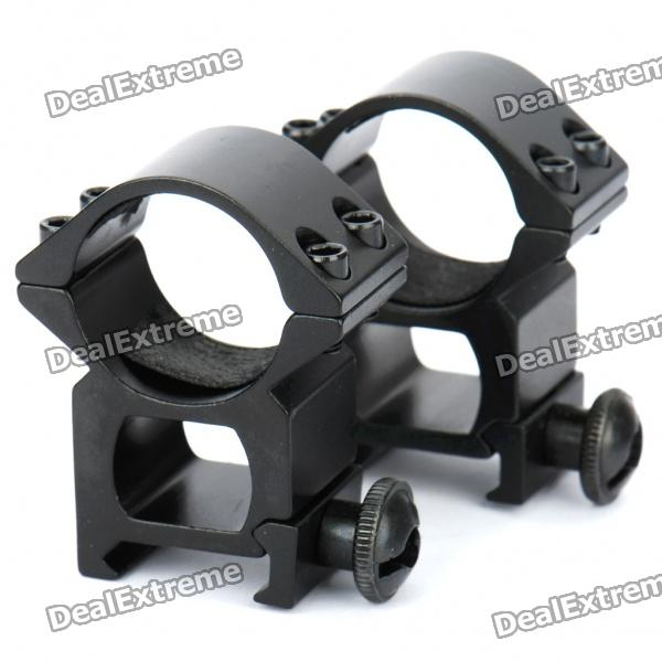 Aluminum Alloy Bracket Mounts with Hex Wrench - Pair (25MM-Caliber)