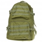 Stylish Military Style Outdoor Travel Sport Backpack Double Shoulder Bag - Army Green