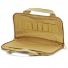 Oxford Cloth Airsoft Pistol Handgun Holster Carrying Bag - Khaki