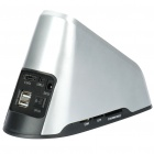 "All-in-1 USB to SATA Docking Station with One Touch Backup & Card Reader for 2.5""/3.5"" SATA HDD"