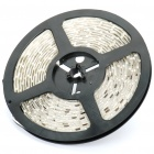 Waterproof 24W 3500K 1700LM 300x3528 SMD LED Warm White Light Flexible Strip w/ Power Adapter (5M)