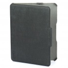Genuine Optima Protective PU Leather Case for   Ipad - Black