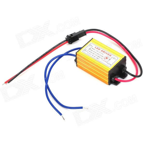 Waterproof 3W Constant Current Source LED Driver (85~265V) 90w led driver dc40v 2 7a high power led driver for flood light street light ip65 constant current drive power supply