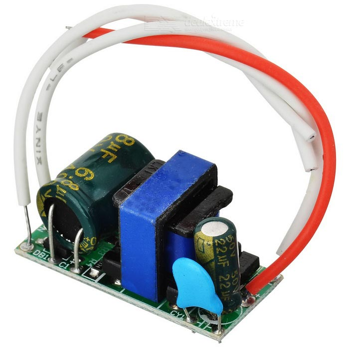 7W LED Constant Current Source Power Supply Driver (90~265V)