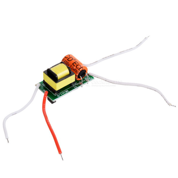 3W LED Constant Current Source Power Supply Driver (90~265V)