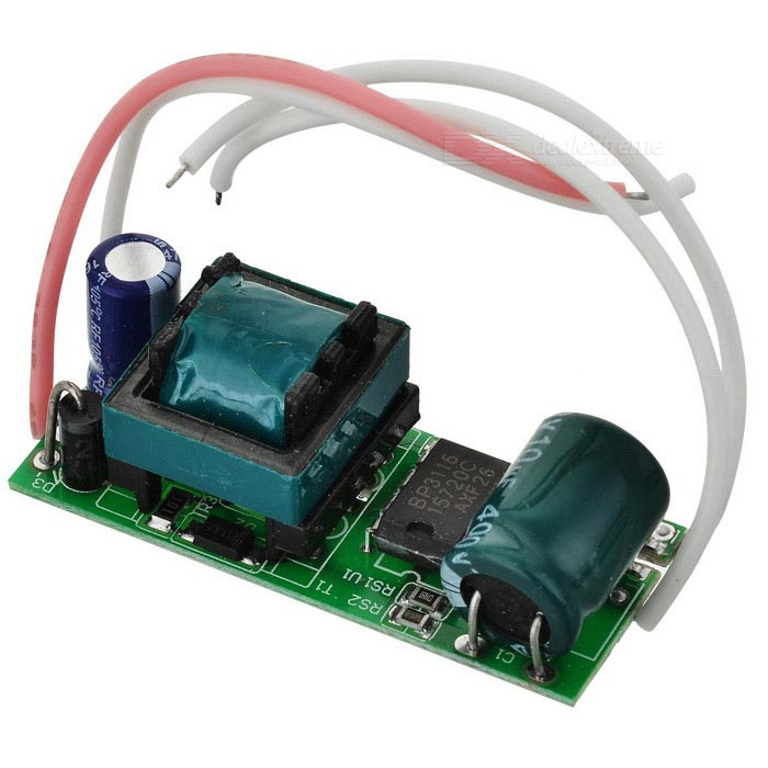 10W LED Constant Current Source Power Supply Driver (90~265V)LED Power Drivers<br>Packing List<br>