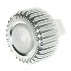 1W/3W 1-LED Aluminum Bulb Accessories Shell - Silver