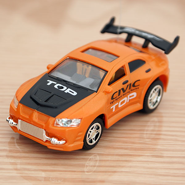 Mini Palm-Sized R/C Racer Car (1:52 Scale)