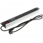 7-Port 1.5U Power Distribution Unit (AC 250 V)