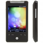 "3.2"" Touch Screen Android Dual SIM Dual Network Standby Quadband GSM Cell Phone w/ WiFi/GPS - Black"