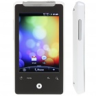 "3.2 ""Touch Screen Android Dual-SIM-Dual-Standby Quadband GSM Netzwerk Cell Phone w / WiFi / GPS - Weiß"