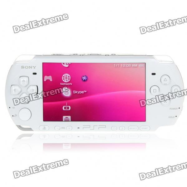 Sony PSP 3000 Portable Entertainment Console Set - White (Refurbished)