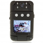 3MP Wide Angle Digital Car Mini DVR Camcorder w/ 4-IR Night Vision/TF/AV-Out (2.0