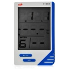 "2.9"" LCD Digital Thermometer/Humidity Meter - White (1 x AAA)"
