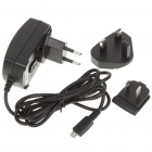 US/EU/UK Plugs Micro 5-pin AC Power Adapter/Charger for Blackberry/Dopod (AC 100~240V)
