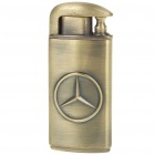 Double-Flame Windproof Butane Jet Torch Lighter with Benz Logo
