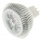MR16 3W 3200K 240-Lumen 3-LED Warm White Light Bulb (12V)
