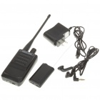 500-Meter Micro Wireless Audio/Voice Bug Transmitter and Receiver Set