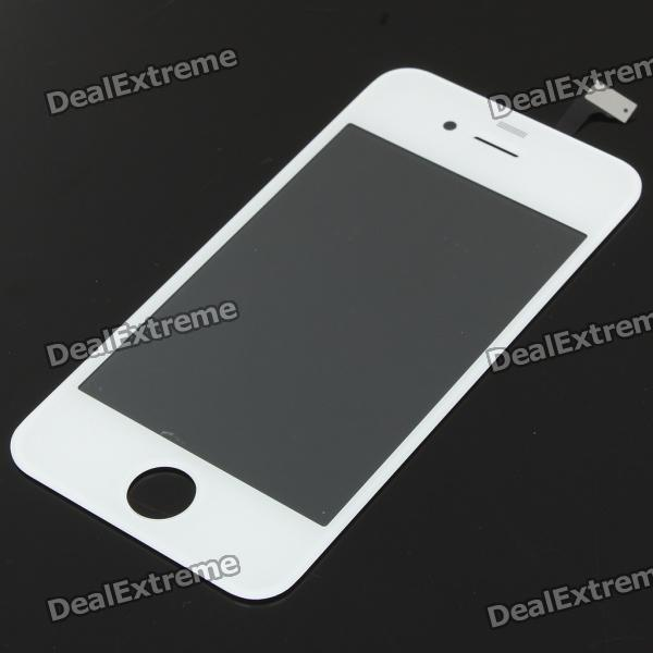 Replacement Touch Screen Digitizer for iPhone 4 - White