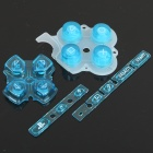 Replacement Buttons for PSP 3000 - Transparent Blue