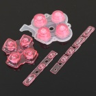 Replacement Buttons for PSP 3000 - Transparent Pink