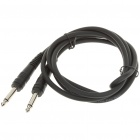 6.35mm Male to Male Mono Audio Connection Cable (1.6M-Length)