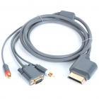 Gold Plated VGA Cable for Xbox 360 (160CM-Length)