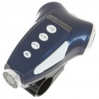 3MP Bicycle Video Recorder/Camcorder MP3 Player Speaker w/ 10-LED Night Vision/TV-Out/TF - Blue