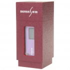 "Benss BX-23 1.2"" OLED USB Rechargeable MP3 Player - Purple (4GB)"