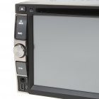 "6.2"" LCD Touch Screen Universal Car DVD Media Player w/ Bluetooth/FM/AV-In/USB/SD"