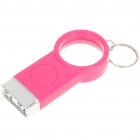 Keychain Magnifier with 2-LED Illumination (3 x LR41)