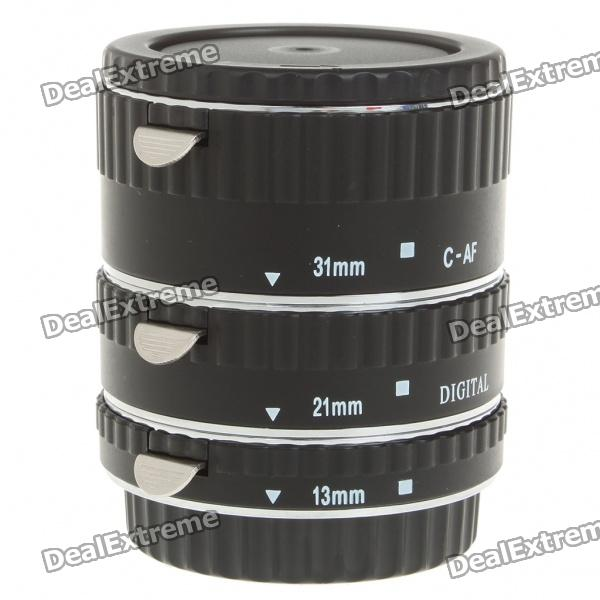 MEIKE Auto Focus Macro Extension Tube Set for Canon DSLR afi afi maximum afi the unauthorised biography of afi