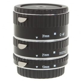 MEIKE Auto Focus Macro Extension Tube Set for Canon DSLR