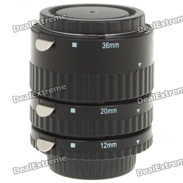 MEIKE Auto Focus Macro Extension Tube Set for Nikon DSLR