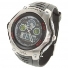 PASNEW Sport Waterproof Quartz Analog Digital Wrist Watch w/ Alarm/Timer (1 x CR2016)