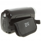 "1.3MP CMOS Digital Video Camcorder w/ 4X Digital Zoom/AV-Out/SD - Black (3 x AAA / 1.8"" TFT LCD)"