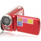 "1.3MP CMOS Digital Video Camcorder w/ 4X Digital Zoom/AV-Out/SD - Red (3 x AAA / 1.8"" TFT LCD)"