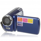 1.3MP CMOS Digital Video Camcorder w/ 4X Digital Zoom/AV-Out/SD - Blue (3 x AAA / 1.8