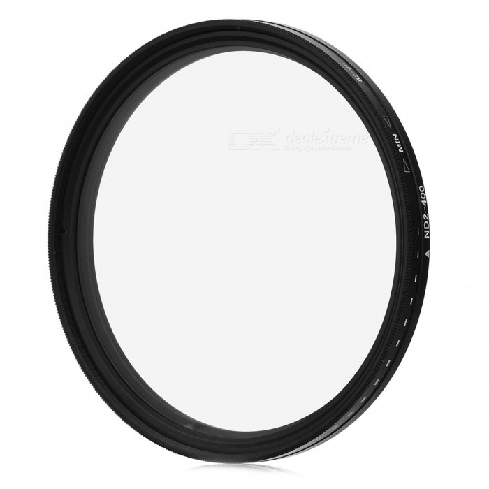 Neutral Density ND2-ND400 Fader ND Filter (82mm) fotga neutral density nd2 nd400 fader nd filter 72mm