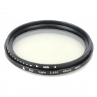 Neutral Density ND2-ND400 Fader ND Filter (49mm)