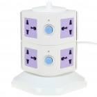 Vertical 8-Outlet Socket (AC 250V)