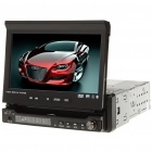 "7 ""Touch Screen Auto-DVD Media Player w / Bluetooth / FM / TV / USB / SD"